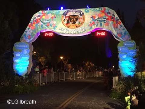 2016 Never Land 5K Finish Line
