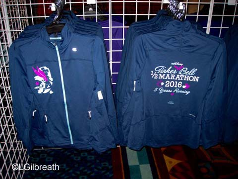 2016 Tinker Bell Half Marathon jacket