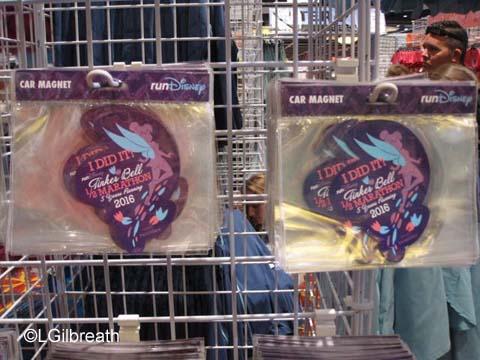 2016 Tinker Bell Half Marathon magnet