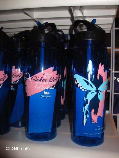 2016 Tinker Bell Half Marathon water bottle