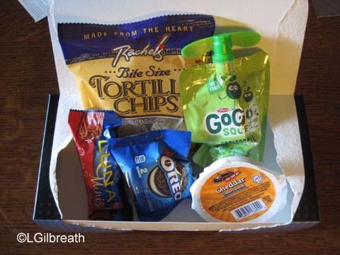 2016 Never Land 5K snack box