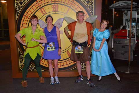 2016 Never Land 5K Peter and Wendy