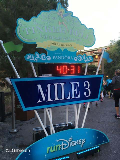 2016 Tinker Bell Half Marathon Mile 3