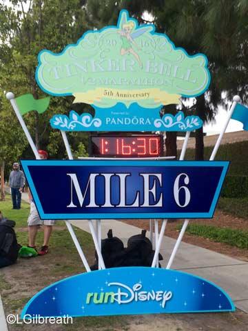 2016 Tinker Bell Half Marathon Mile 6