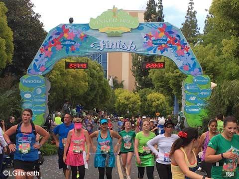 2016 Tinker Bell Half Marathon Finish