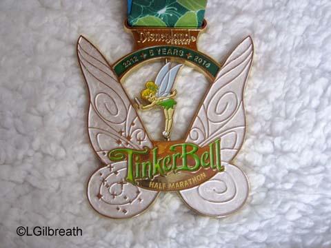 2016 Tinker Bell Half Marathon medal