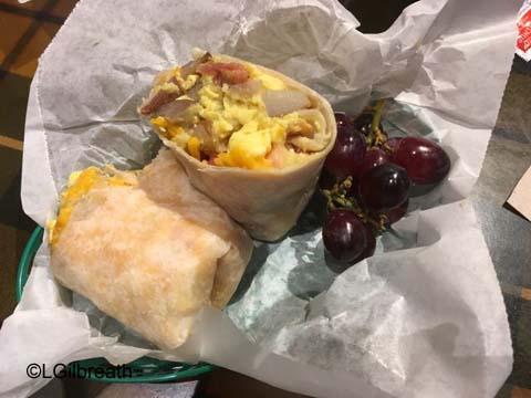 White Water Snacks Breakfast Burrito