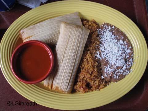 Rancho del Zocalo Breakfast Tamales