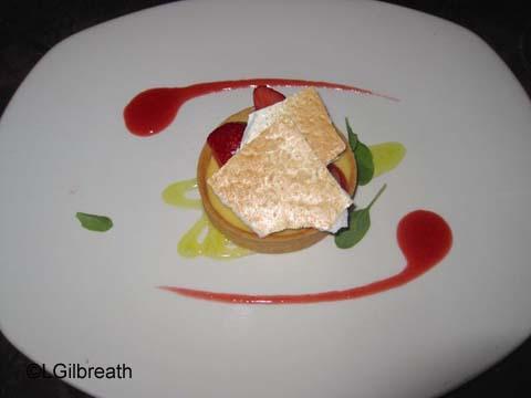 Carthay Circle Meyer Lemon Custard Tart