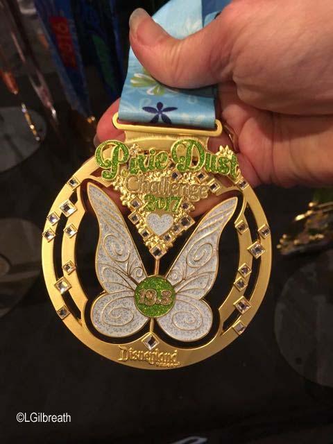 Tinker Bell Pixie Dust Challenge medal