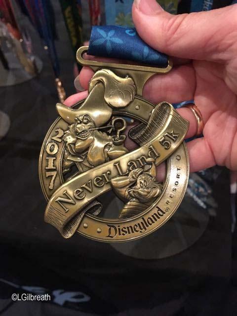 Tinker Bell 5K medal