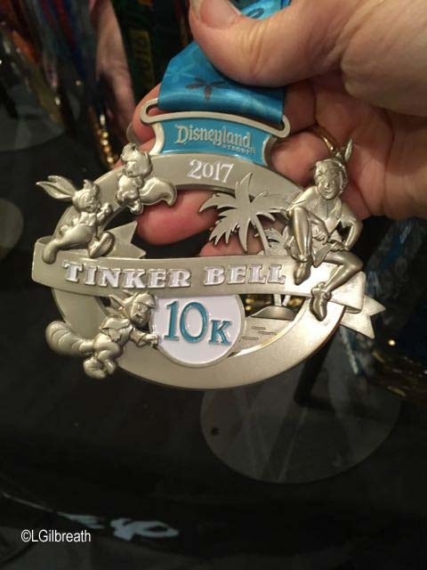 Tinker Bell 10K medal
