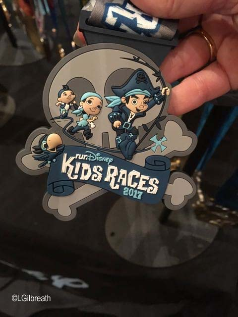 Tinker Bell Kids Races medal