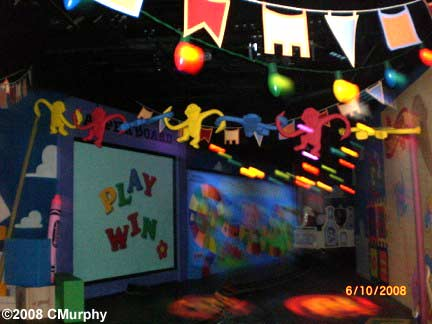 Toy Story Midway Mania at Disney's California Adventure