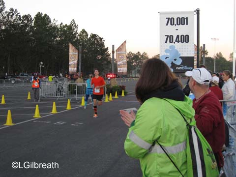 WDW 2012 Marathon Weekend - The Marathon Relay