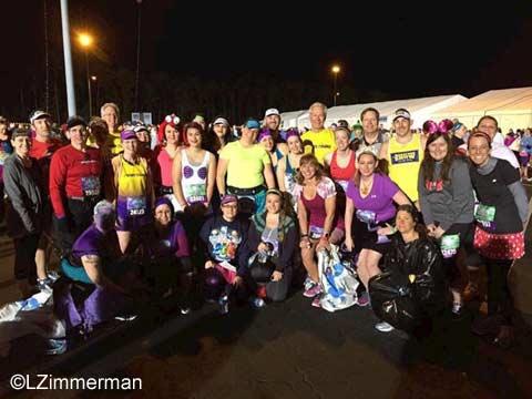 2016 Princess Half Marathon Mickey Milers