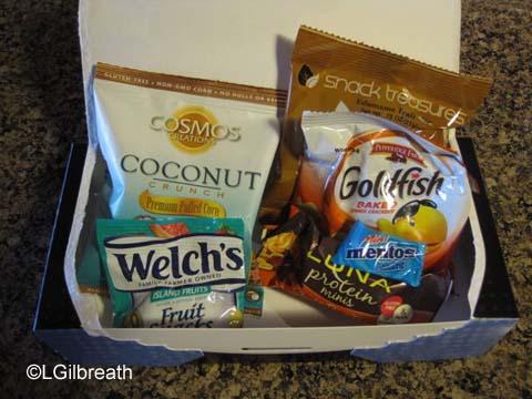 2016 Princess Half Marathon food box