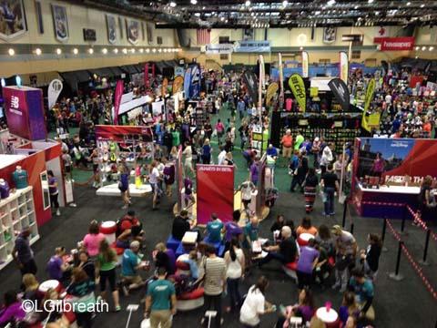 2016 Princess Half Marathon Expo floor
