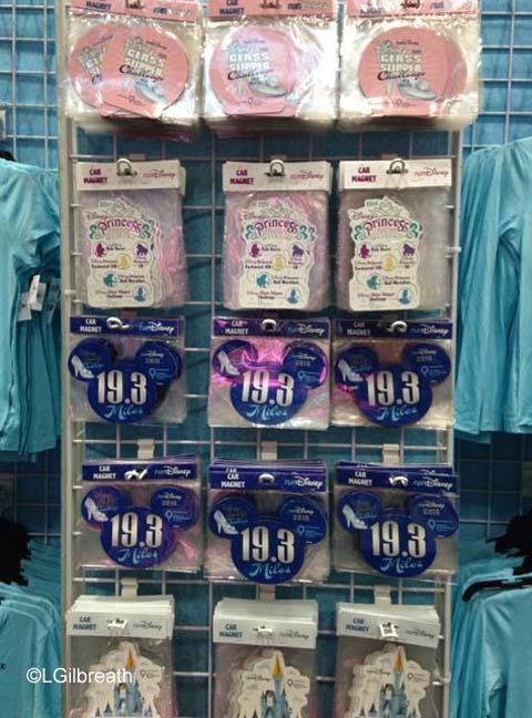 2016 Princess Half Marathon magnets
