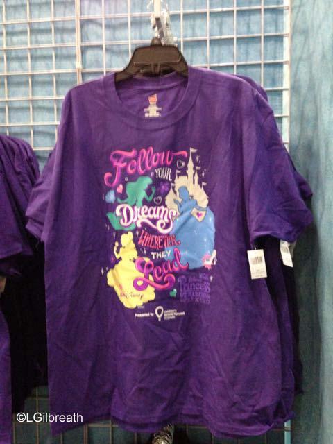 2016 Princess Half Marathon shirt
