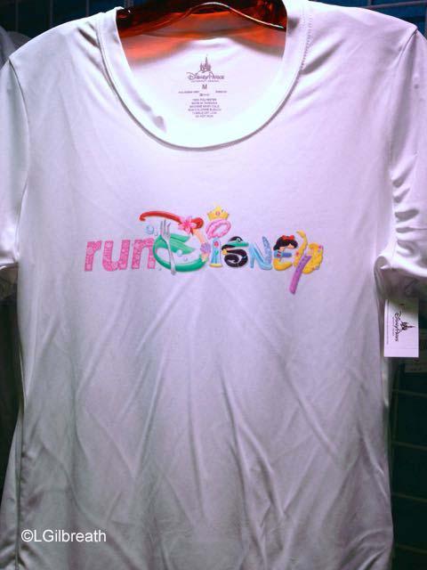 2016 Princess Half Marathon runDisney shirt