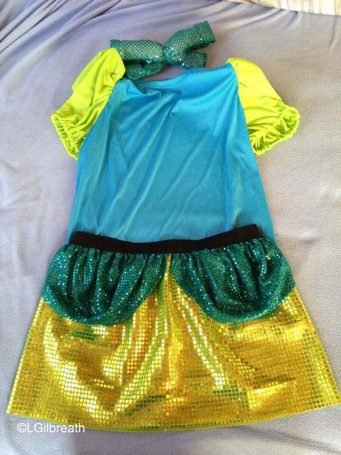 Stepsister Drizella Anastasia running costumes