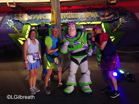 2016 Princess Half Marathon Buzz Lightyear