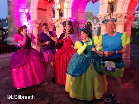 2016 Princess Half Marathon Cinderella stepsisters