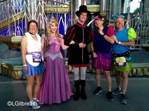 2016 Princess Half Marathon Aurora Phillip