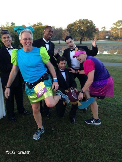 2016 Princess Half Marathon glass slipper