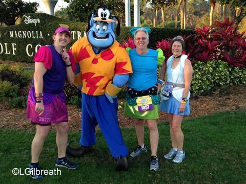 2016 Princess Half Marathon Genie