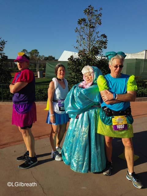 2016 Princess Half Marathon Fairy Godmother