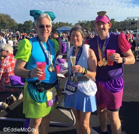 2016 Princess Half Marathon champagne