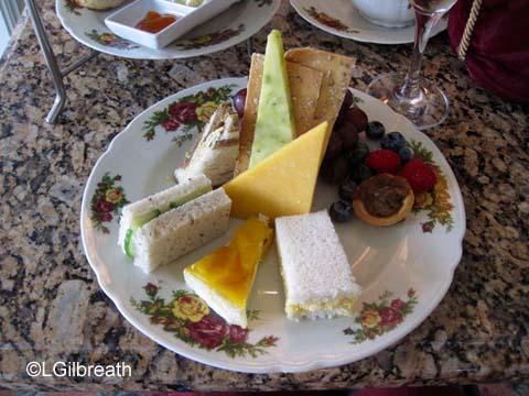 Grand Floridian Tea sandwiches
