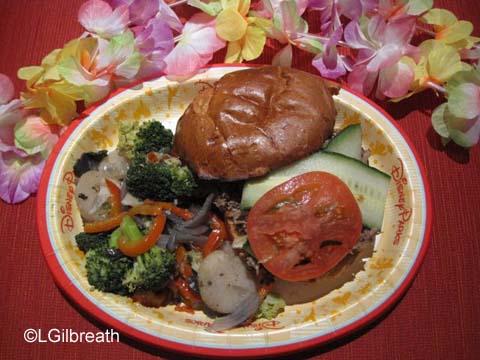 Captain Cook's Aloha Pork Sandwich