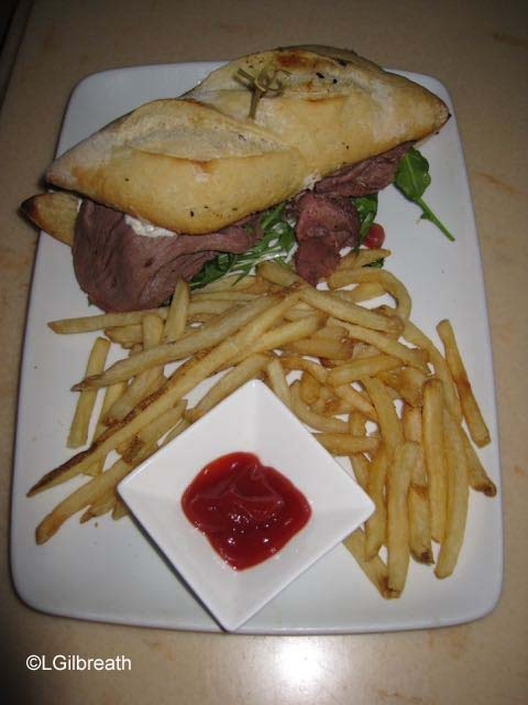 Be Our Guest Roast Beef Sandwich