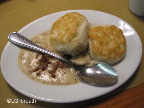 Garden Grill Biscuits and Gravy