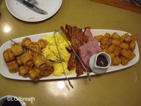 Garden Grill Breakfast Platter