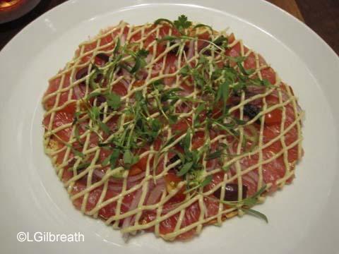 Morimoto Asia Tuna Pizza