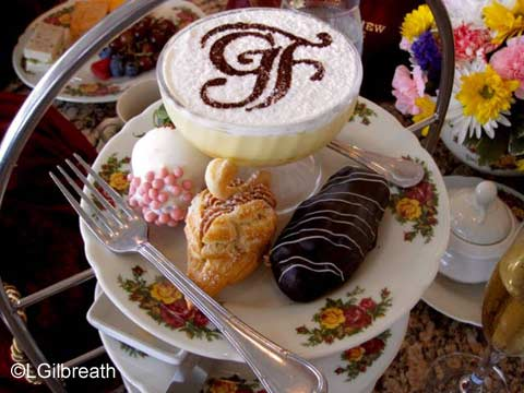Grand Floridian Tea trifle and pastries