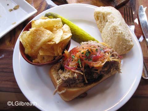 Sanaa Kenya Coffee BBQ Sandwich