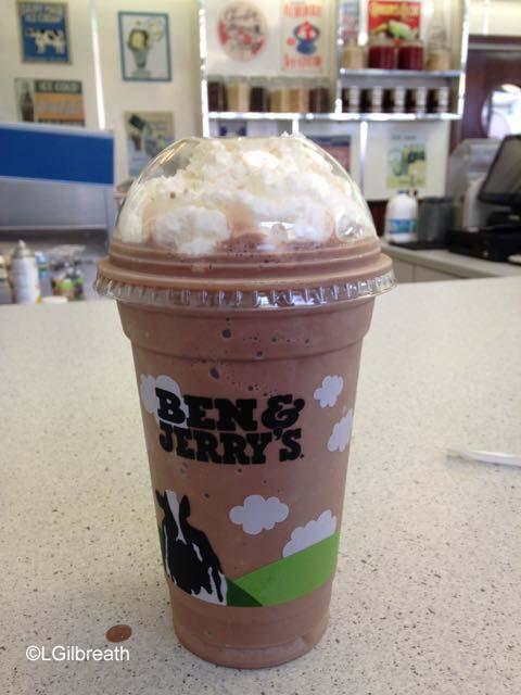 Universal Schwab's Chocolate Shake