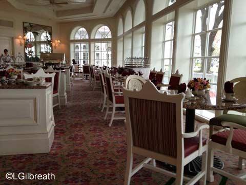 Grand Floridian Tea Garden View Lounge