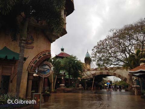 Islands of Adventure Port of Entry