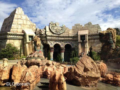 Islands of Adventure Poseidon's Fury