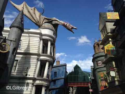 Diagon Alley Escape from Gringotts