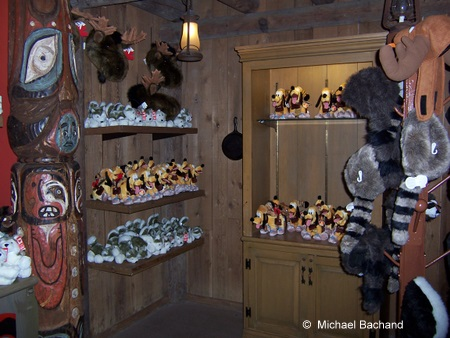 Inside the shops
