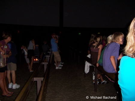 Inside O'Canada theater