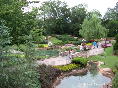 Another view of the gardens