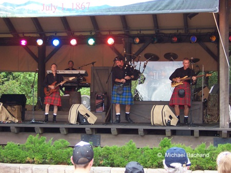 Off Kilter performing